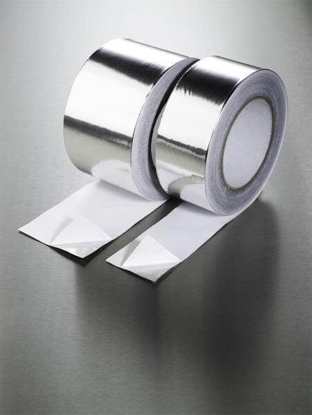 Aluminium Foil Tape with Cold Weather Adhesive