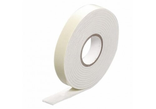 Single Sided PE Foam Tape with Fixed Liner