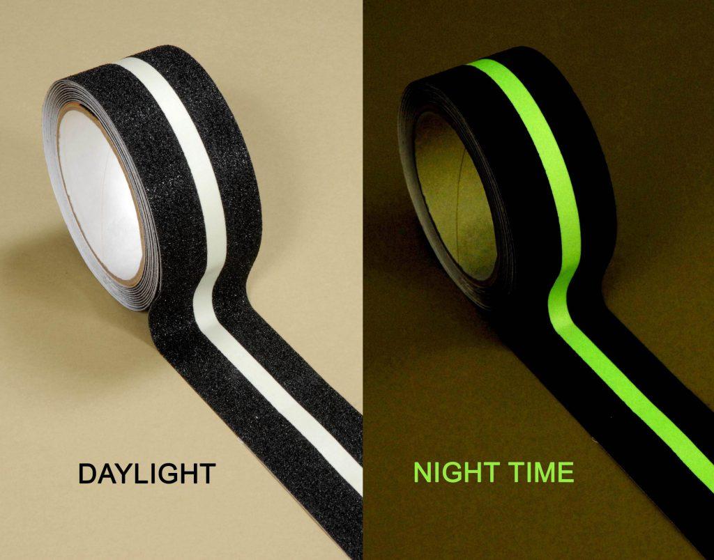 Glow In The Dark Stripe Anti Slip Tape Flowstrip