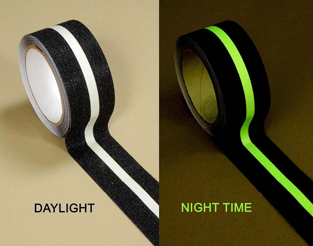 Glow In The Dark Stripe Anti Slip Tape