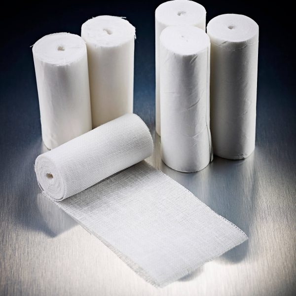 High Performance White Open Weave Bandage