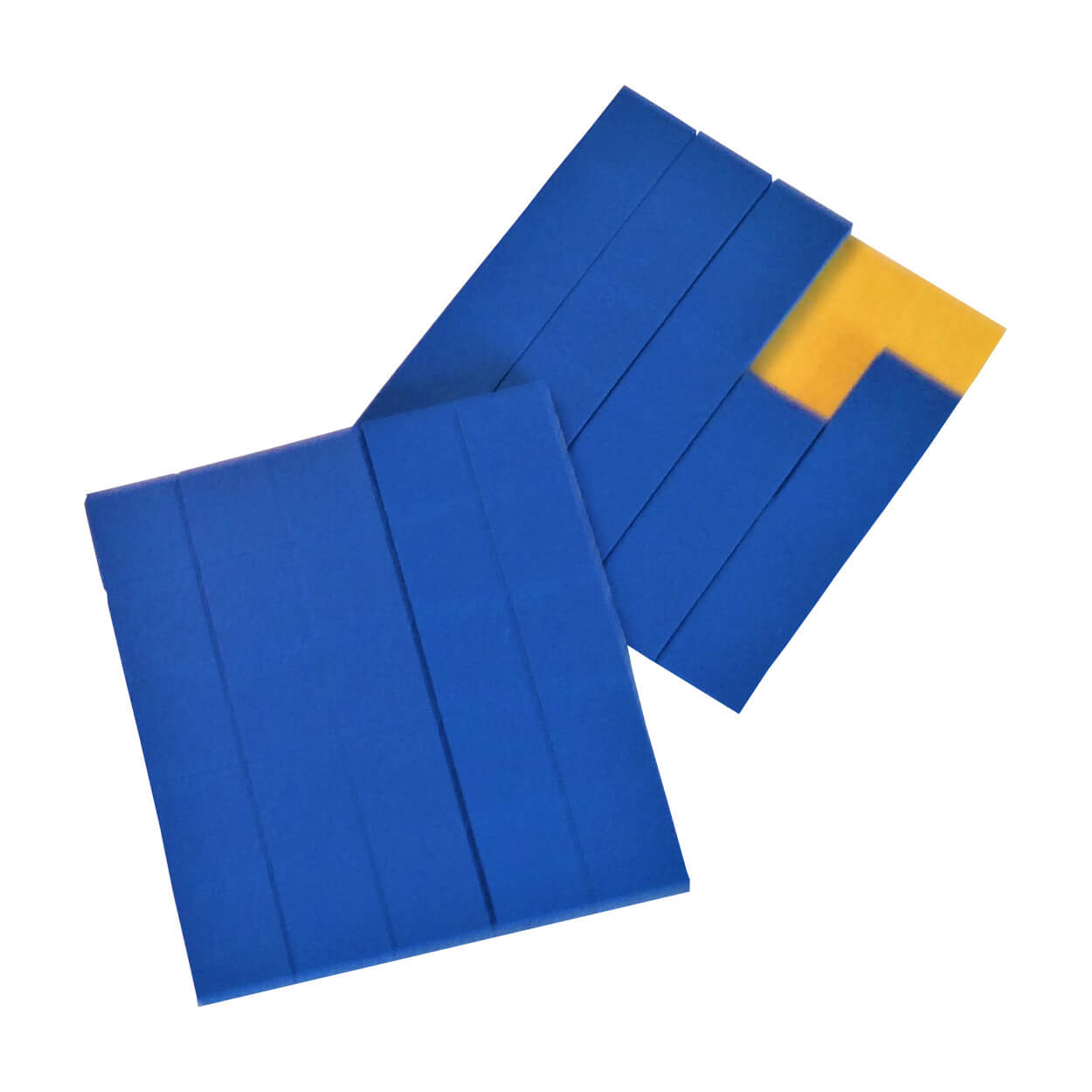 Blue Low Tack PVC Foam FDP3013