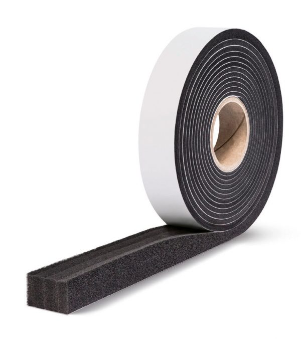 Black Expanding Foam Tape FL4520